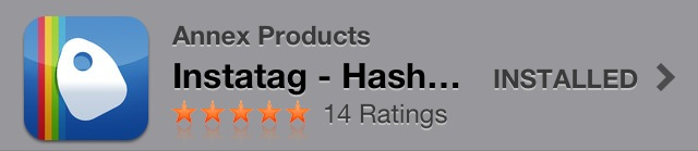 Instatag on the App Store