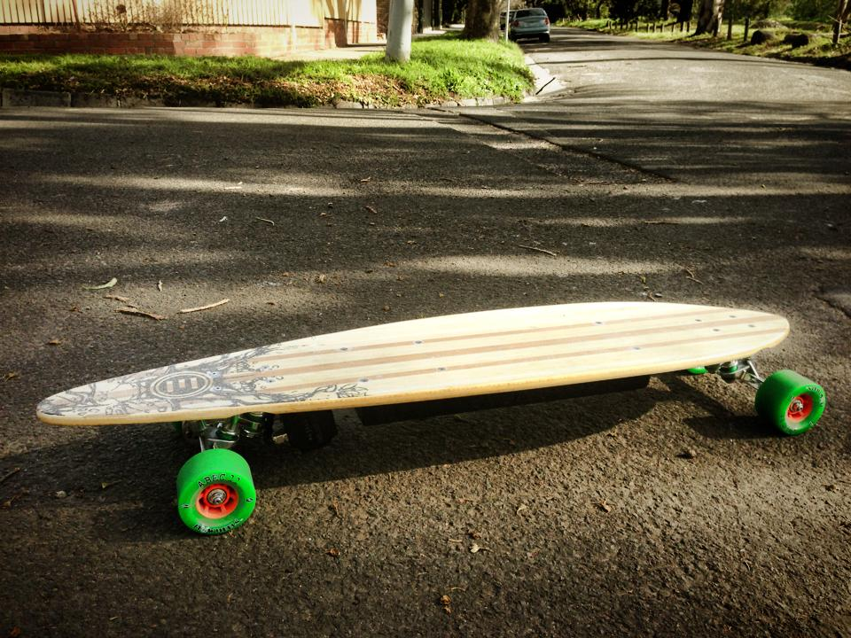 Evolve Electric longboard